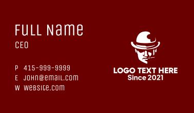 Bowler Hat Man Business Card