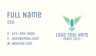 Flying Aviation Bird Business Card