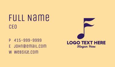 Bird Song Music  Business Card