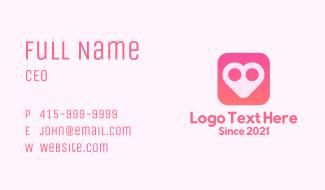 Heart App Business Card