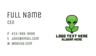 Alien Fruit Business Card