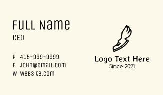 Wing Footwear Business Card