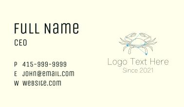 Cancer Zodiac Sign  Business Card
