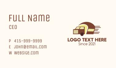 Bread Truck Business Card