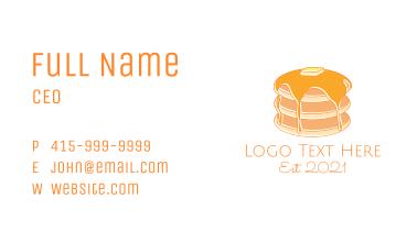 Doodle Pancake House Business Card