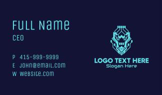 Neon Lion Tech Business Card