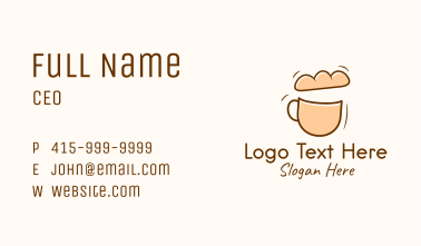 Bread & Cup Cafe Business Card