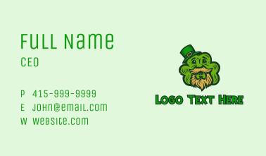 Leprechaun Shamrock Business Card