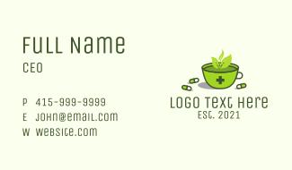 Herbal Medicine Tea Business Card