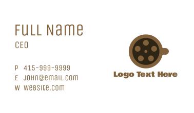 Coffee Reel Business Card