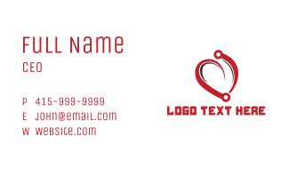 Heart Circuit Business Card