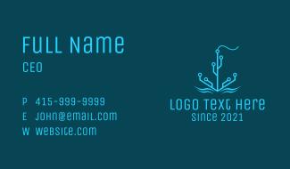 Tech Circuit Anchor Business Card