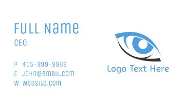 Black & Blue Eye Business Card