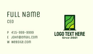 Green Tablet Tech  Business Card