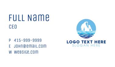 Tall Iceberg Business Card