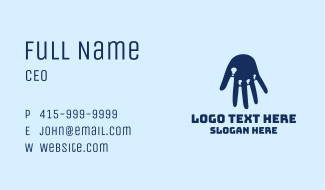 Hand Factory Chimney Business Card