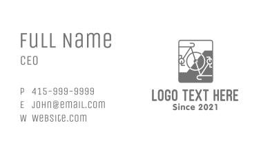 Bicycle Repair Shop Business Card