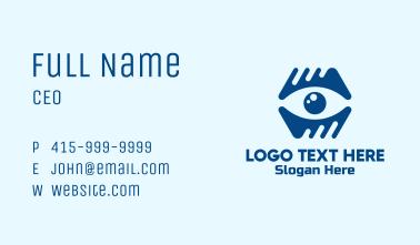 Blue Eye Clinic Business Card