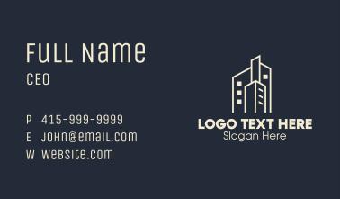Building Cluster Real Estate Business Card