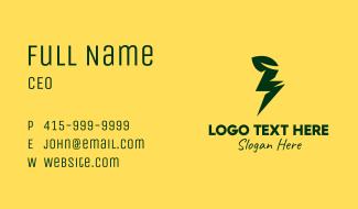 Lightning Leaf Business Card