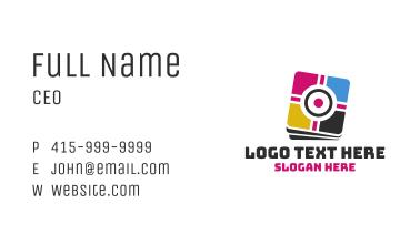 Target Print Business Card