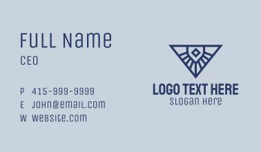 Gothic Star Shine Business Card