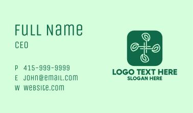 Hashtag Nature App Business Card