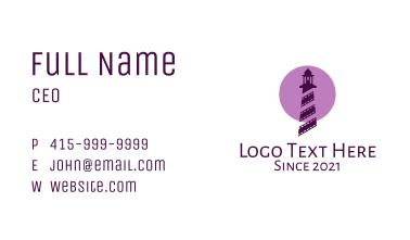 Lighthouse Cinema Reel  Business Card