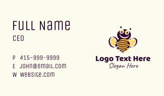 Honey Bumblebee Business Card