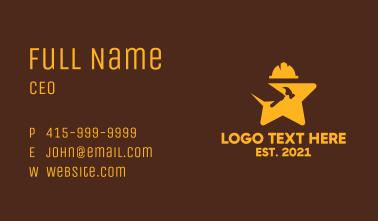 Golden Star Construction  Business Card