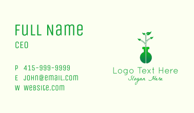 Biochemical Laboratory Business Card
