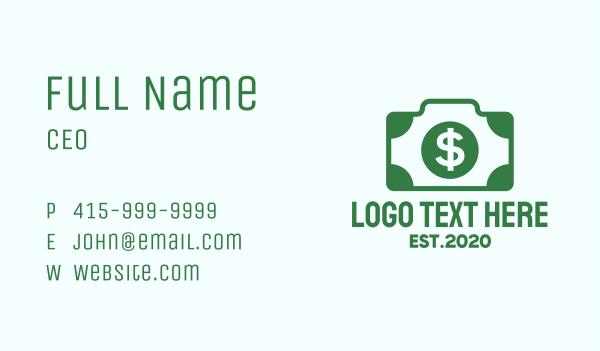 dollar - Dollar Camera Business card horizontal design