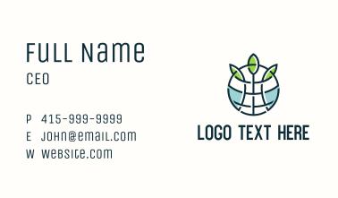 Global Environmentalist Association Business Card