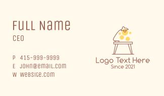 Lamp Desk Fixture Business Card