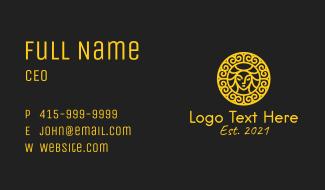 Luxury Beauty Badge  Business Card