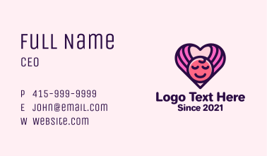 Baby Infant Care Business Card