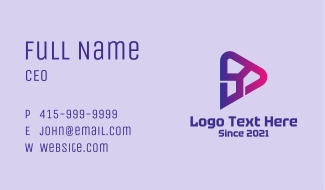 Sound Engineering Tech Business Card