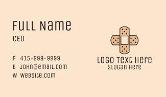 Bandage Cross Business Card