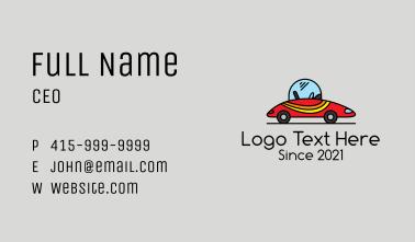 Race Car Toy Business Card