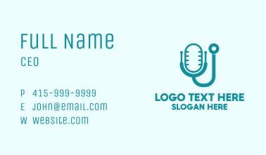 Medical Podcast Business Card