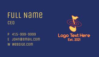 Music Orbit Business Card