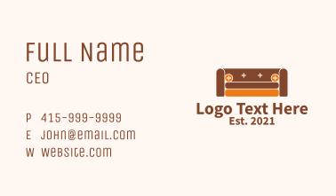 Sofa Furniture Store  Business Card