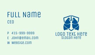 Respiratory Clinic Business Card