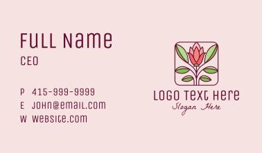 Elegant Flower Garden Business Card