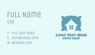 Blue Pillow House Business Card