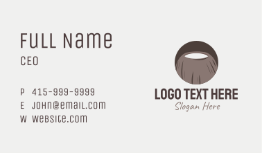 Brown Coconut Business Card
