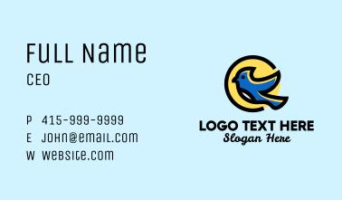 Blue Bird Jaybird Business Card