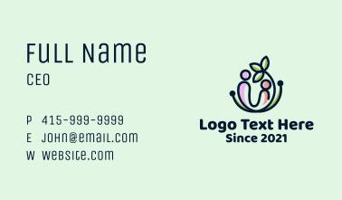 Leaf Mother & Child Business Card