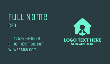 Work From Home Business Card