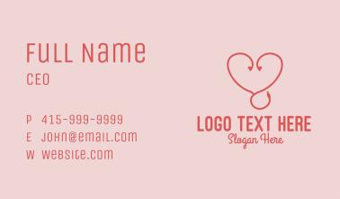 Love Audio Earphones  Business Card